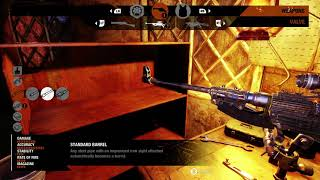 Metro Exodus - The Taiga Church: Modify Hellsing Crossbow, Valve & Ahot at Workbench Gameplay (2019)