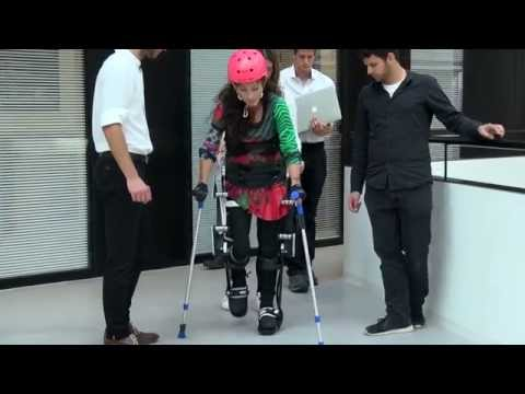 Technology gets disabled people back on their feet