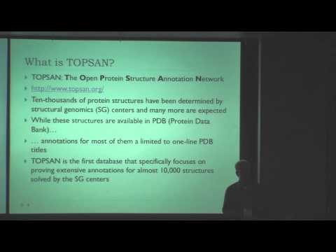 Connecting TOPSAN to Computational Analysis via Semantic Web Technology