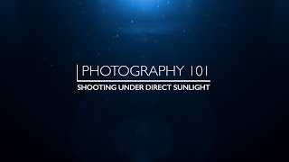 Photography 101 - How to shoot under direct sunlight | EM Multimedia