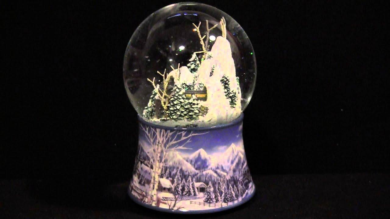 boule de neige musical avec train youtube