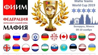 1 стол 2 день Командный Чемпионат Мира 2019