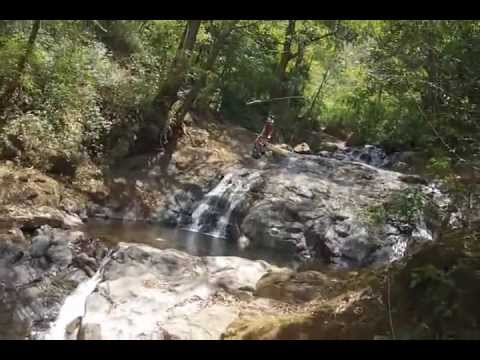 Awesome Zip Lines over Waterfalls in Costa Rica - 2012
