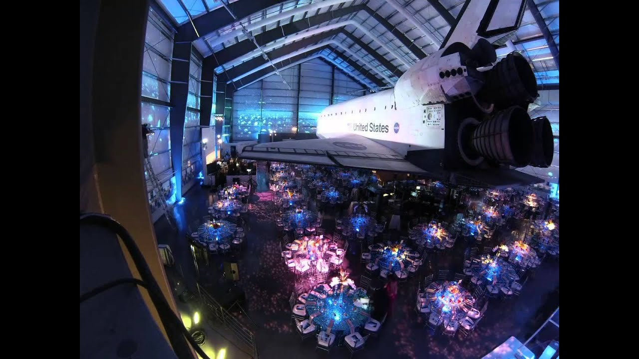 Special Event Lighting - California Science Center Los