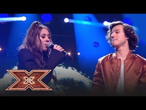 "Finala X Factor 2018. Duet. Cristian Moldovan & Nicole Cherry - ""Shallow"" (A Star Is Born)"