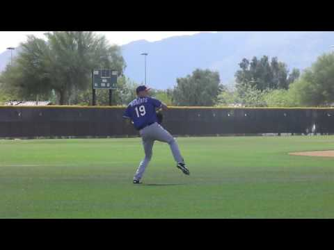 Kyle Roberts Spring Training - Practice