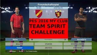 PES 2016 GAMEPLAY MYCLUB TEAM SPIRIT CHALLENGE SPORT RECIFE VS BRISTOL CITY
