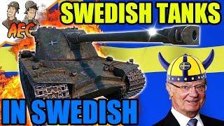 Swedish Tanks - In Swedish