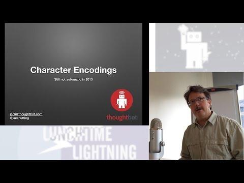 Character Encodings (Jack)
