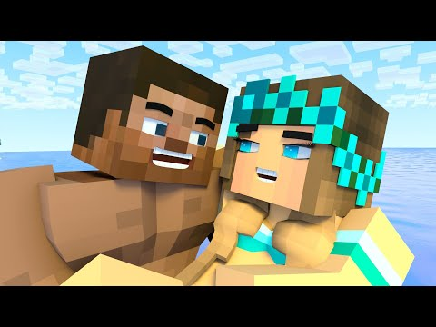 Best Love Story | Octopus | Minecraft Animation Life Of Steve & Alex