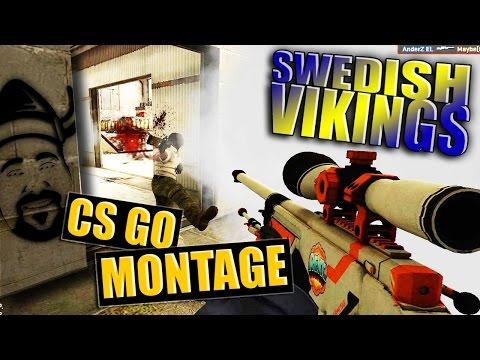 CS GO Montage - Swedish Vikings