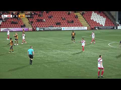 Airdrieonians Alloa Goals And Highlights