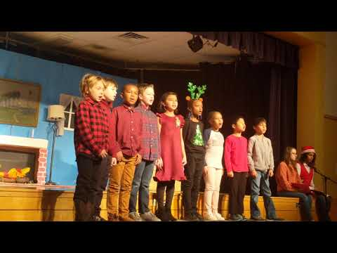 Westfield Friends School 3rd grade dreaming of a white Christmas