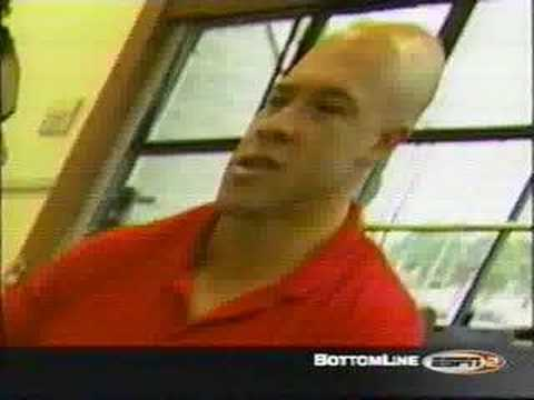 """""""Natural"""" Bodybuilders Skip Lacour and Ron Coleman"""