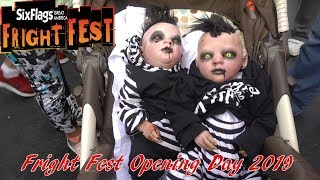 Fright Fest Opening Day 2019 At Six Flags Great America