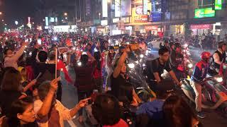 1071122-韓國瑜三民區萬人空巷大掃街