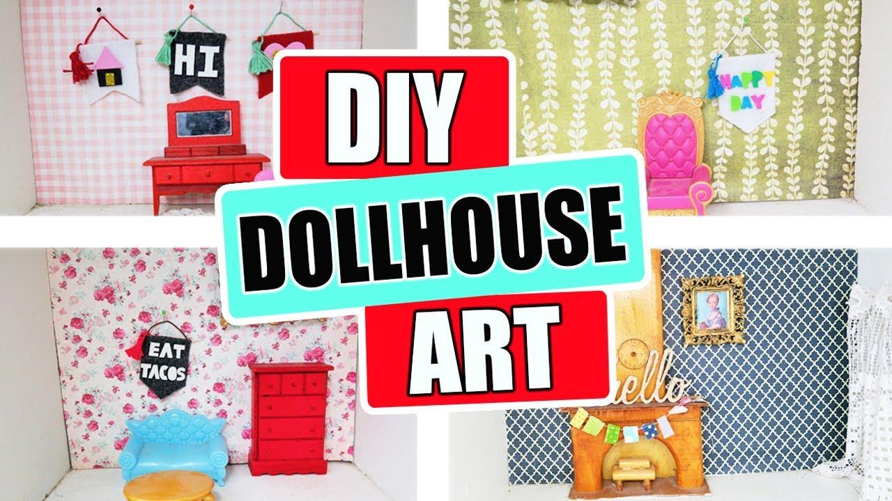 4cd1e6d8f DIY Miniature Doll House Art