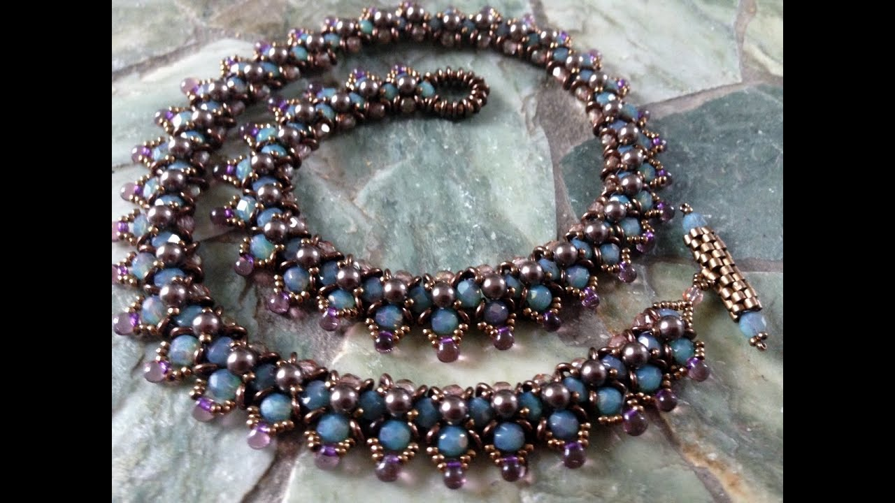 Spring Flower Buds Necklace Part 1 Youtube