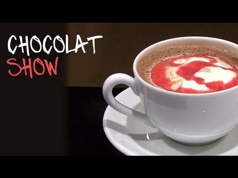 chocolat show la recette du chocolat chaud maison en vid o. Black Bedroom Furniture Sets. Home Design Ideas