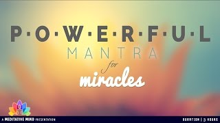 MIRACLE MANTRA of GURU RAM DAS | Benefits & Meaning | Mantra Meditation Music