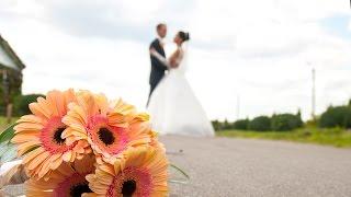 Фрагмент свадебного видео (прогулка)
