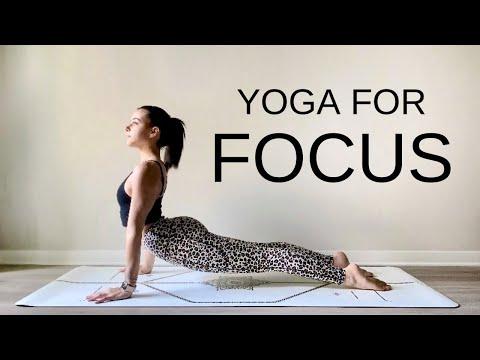 Energizing Vinyasa Yoga For Focus | 30-Min Practice + Meditation