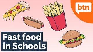 Junk Food Debate: Should Fast Food Be Allowed in Schools? – Today's Biggest News