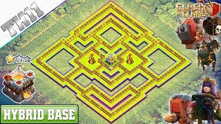 New UPDATED TH11 Base 2018 with Tornado trap | th11 Farming Base Anti Everything – Clash of Clans