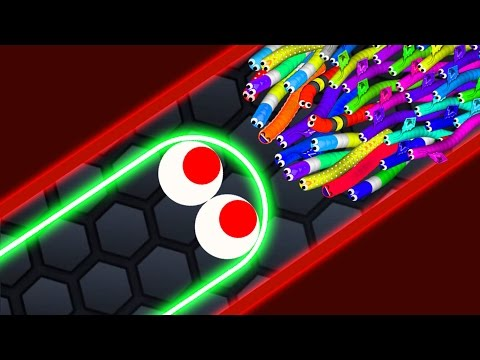 Thumbnail: Slither.io - LUCKY GIANT SNAKE vs 14500 SNAKES! // Epic Slitherio Gameplay (Slitherio Funny Moments)