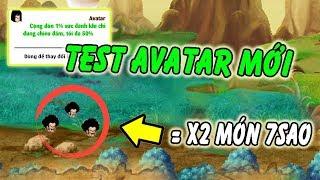 Ngọc Rồng Online - Test Avatar tăng 50% sức đánh hơn hai món 7s   Bá đạo trên từng hạt gạo
