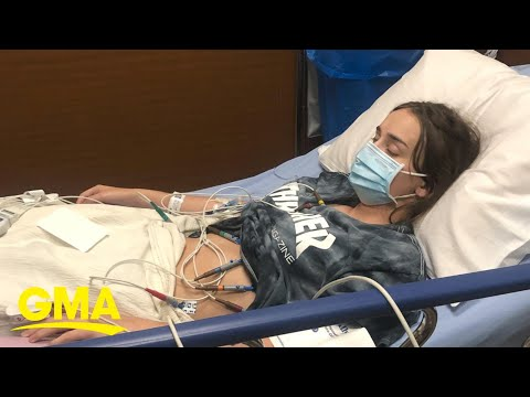 I'm 16 and went to the hospital twice for COVID-19. This is what it's like l GMA Digital