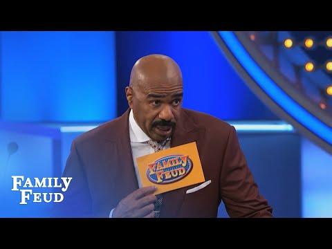 What do the EASTER BUNNY and POTATOES have IN COMMON?   Family Feud