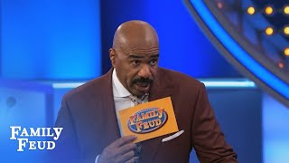 What do the EASTER BUNNY and POTATOES have IN COMMON? | Family Feud