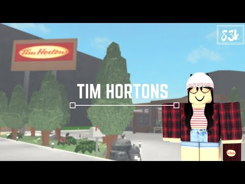 Roblox: Welcome to Bloxburg | Tim Hortons (83k)