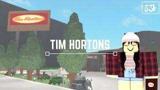 Roblox: Welcome to Bloxburg | Tim Hortons (83k)
