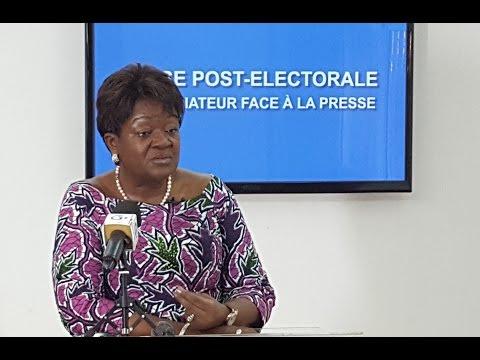 GABON/CRISE POST-ELECTORALE : LE MEDIATEUR FACE À LA PRESSE
