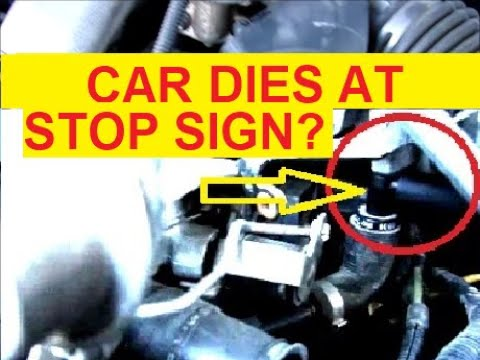 How To Fix it - Car dies at stop light with rough idle - Higher RPM flattens