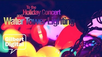 Free Concert and Water Tower Lighting