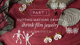 Part 1 of 2 | Halloween Crafts: How to Cut Shrink Film Jewelry with Your Cricut Maker
