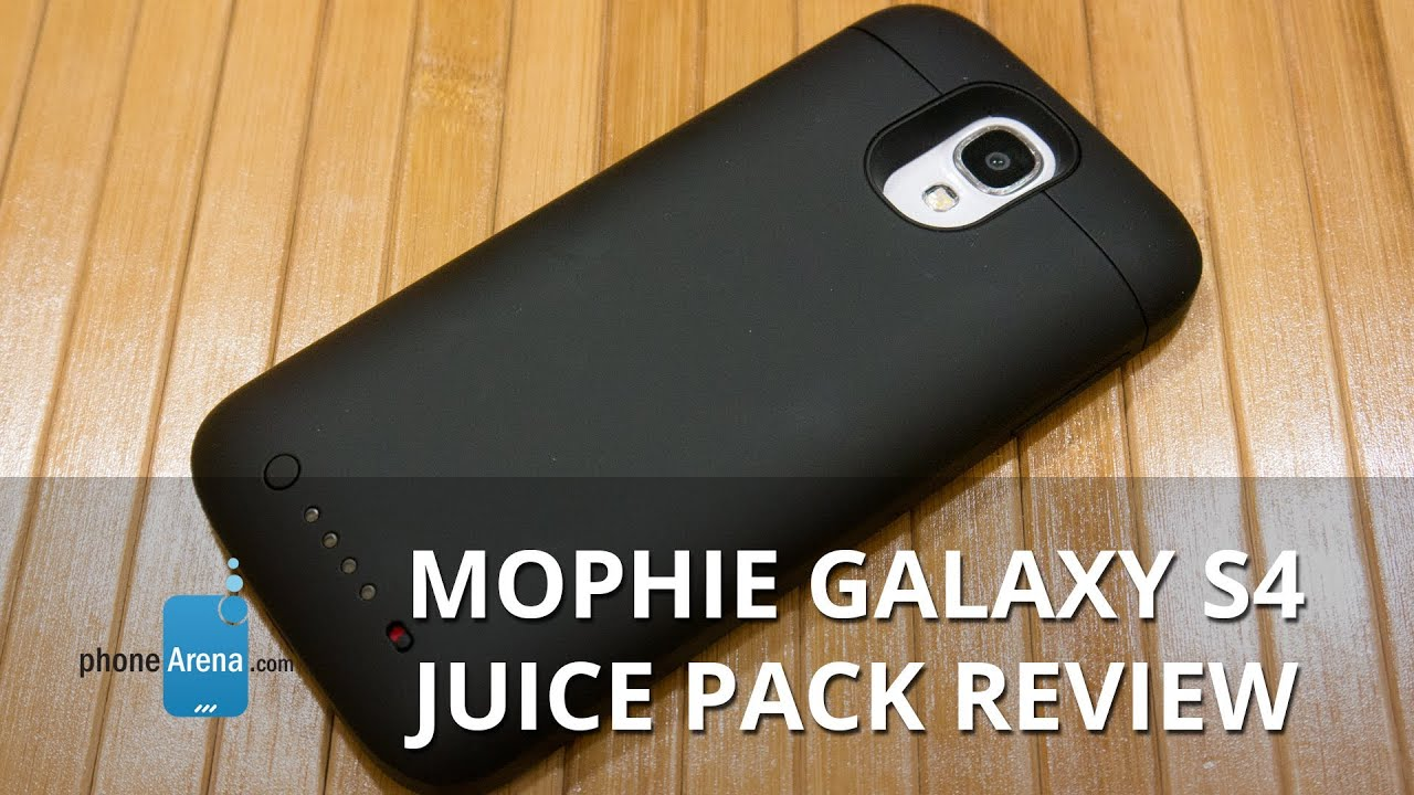 huge selection of c2f22 03b65 Mophie Samsung Galaxy S4 Juice Pack Review