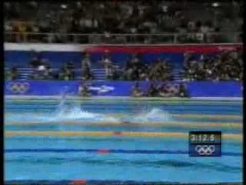 Sydney Olympic Swimming 4x200 Freestyle Relay.flv