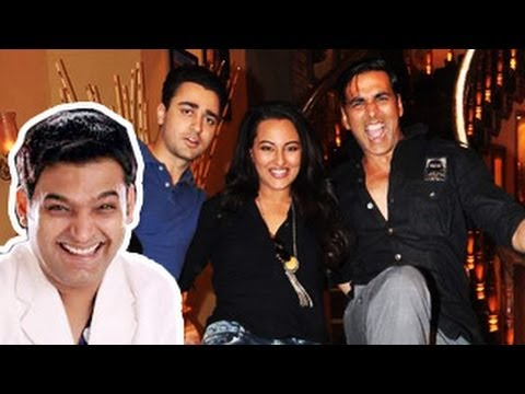 Akshay Kumar, Sonakshi, Imran on Comedy Nights with Kapil- 3rd August 2013 Travel Video