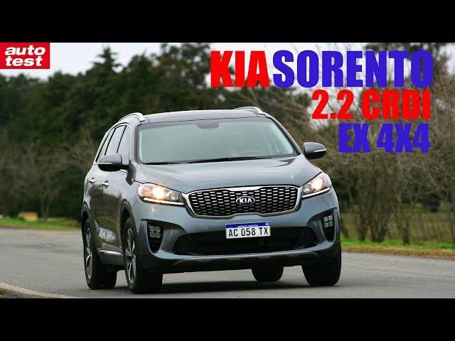 Prueba: Kia Sorento EX 2.2 CRDI AT 4x4