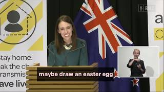 Jacinda Ardern - Tooth Fairy and Easter Bunny essential workers