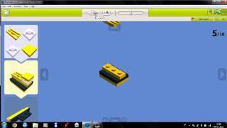 Building A Toy Bulldozer In Lego Digital Designer