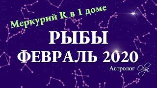 РЫБЫ гороскоп на ФЕВРАЛЬ 2020. Меркурий Ретро. Астролог Olga