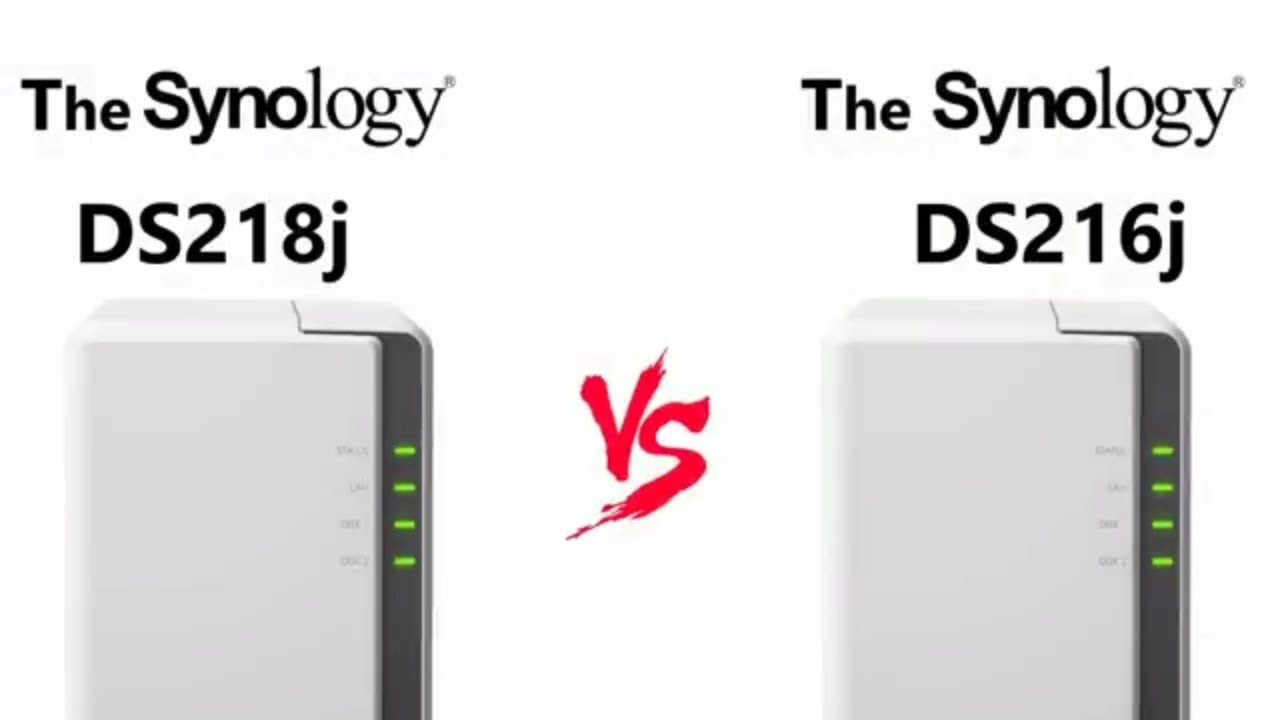 The Synology DS218j Versus The Synology DS216j - Cost Effective NAS  Comparison