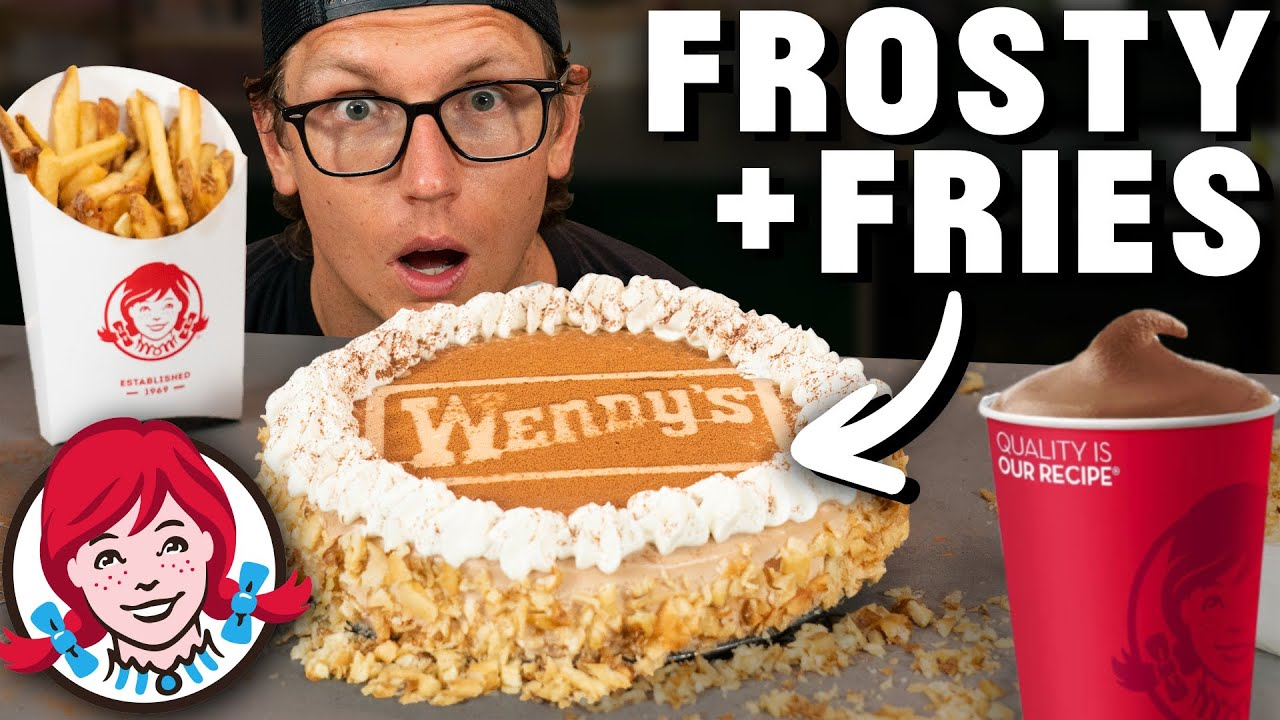Josh Makes A Wendy's Frosty and French Fry Cheesecake