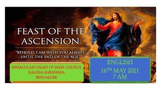SUNDAY LIVE MASS (16 MAY 2021) - ENGLISH - 7:00 AM