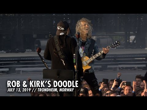 Metallica: Rob & Kirk Doodle (Trondheim, Norway - July 13, 2019)